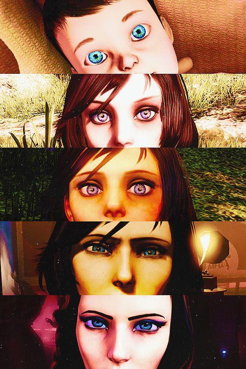 Anna's and Elizabeth's Eyes
