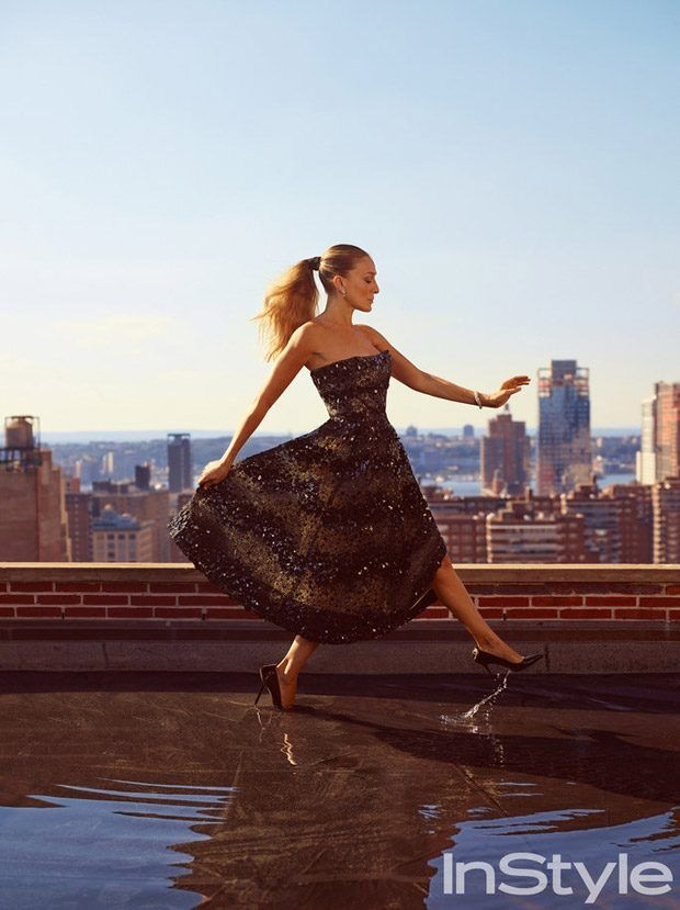 Sarah Jessica Parker Stars in InStyle US January 2017 Cover Story