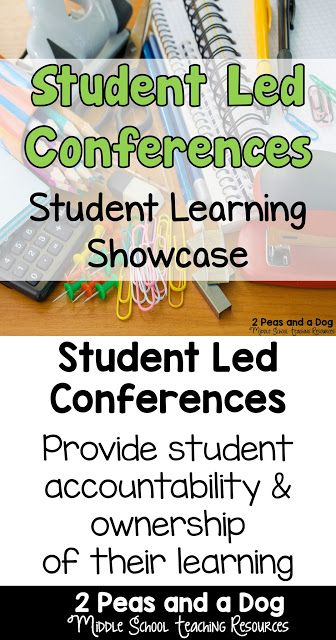 Student Led Conferences are a good way to have students take on more ownership of their learning, and share this learning with their parents, guardians and teachers from the 2 Peas and a Dog blog.