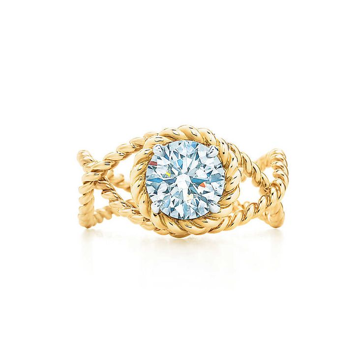 Jean Schlumberger Rope Engagement Ring