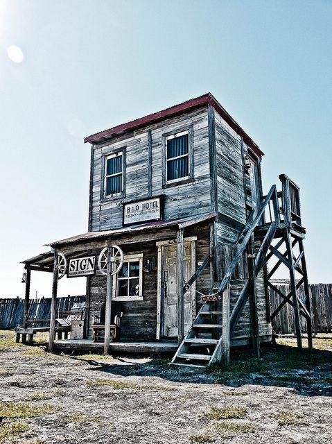 J Lorraine, Texas - Ghost Town - (near Manor, TX)