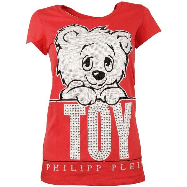 Philipp Plain Philipp Plein Leave Me T-shirt ($405) ❤ liked on Polyvore featuring tops, t-shirts, rrosso, white t shirt, philipp plein, philipp plein t shirt, white cotton tee and cotton t shirts