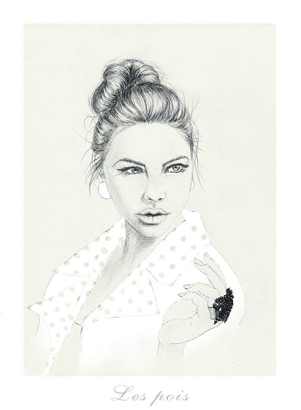 illustration, polish illustration, drawing, beauty, dyzia malyzia