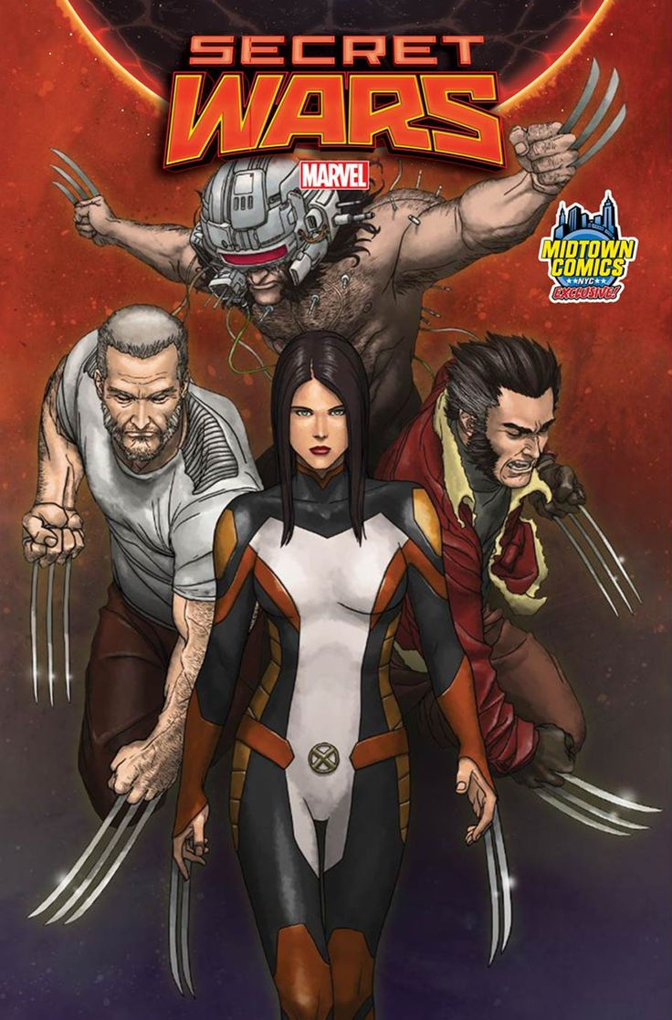 Secret Wars #4 Cover B Midtown Exclusive Mike Choi Variant Cover