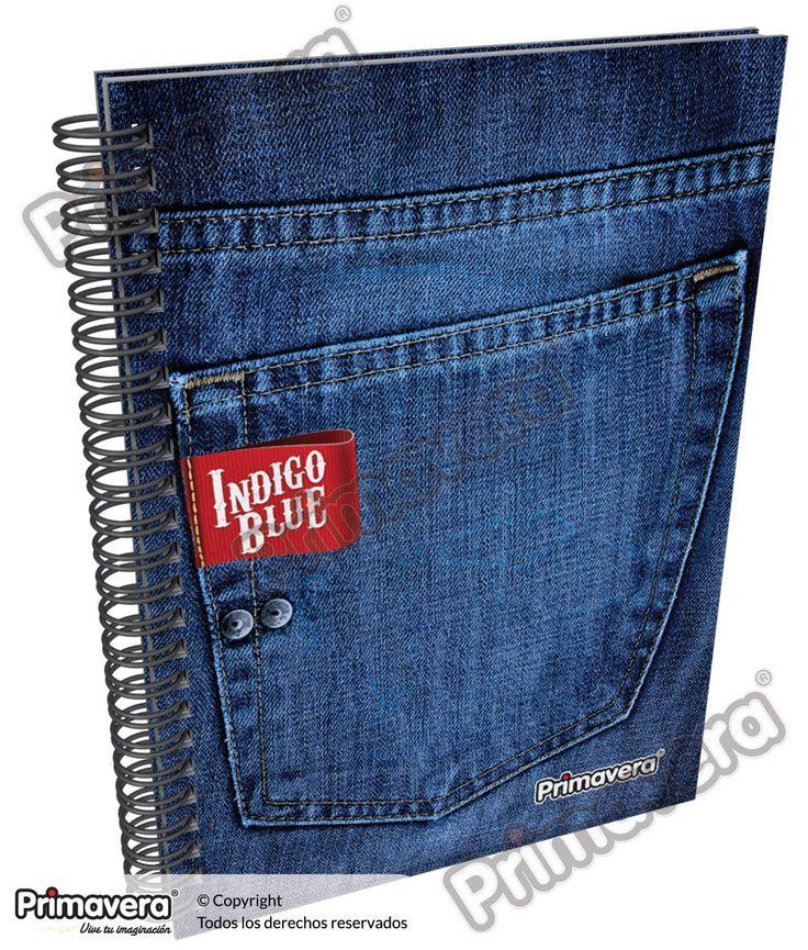 Cuaderno Pasta Dura Indigo Blue http://escolar.papelesprimavera.com/product/cuaderno-pasta-dura-indigo-blue-primavera-4/