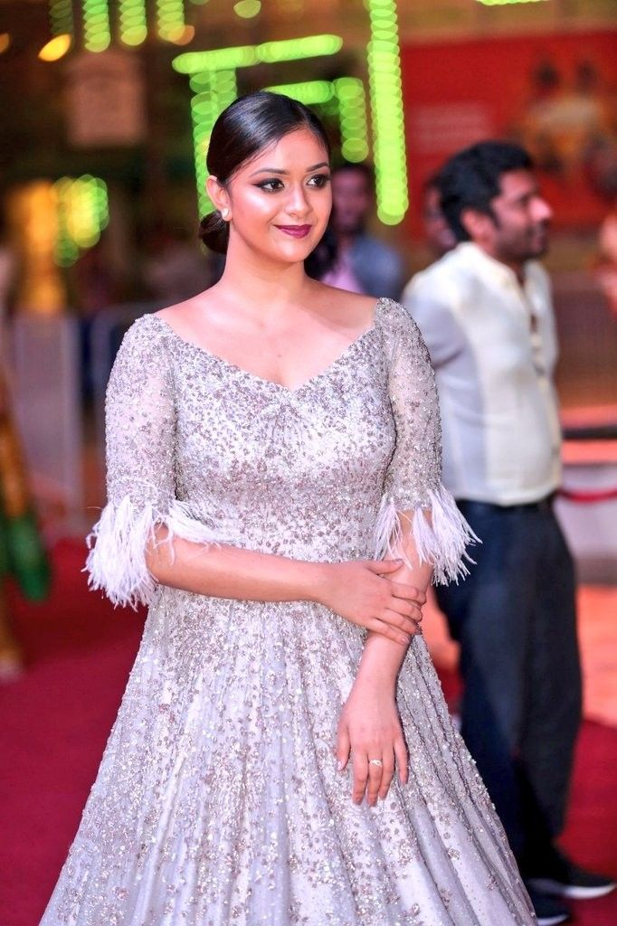 Keerthy Suresh 😍 Latest Photos from SIIMA Awards