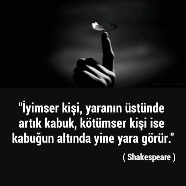 İyimserlik .. Shakespeare