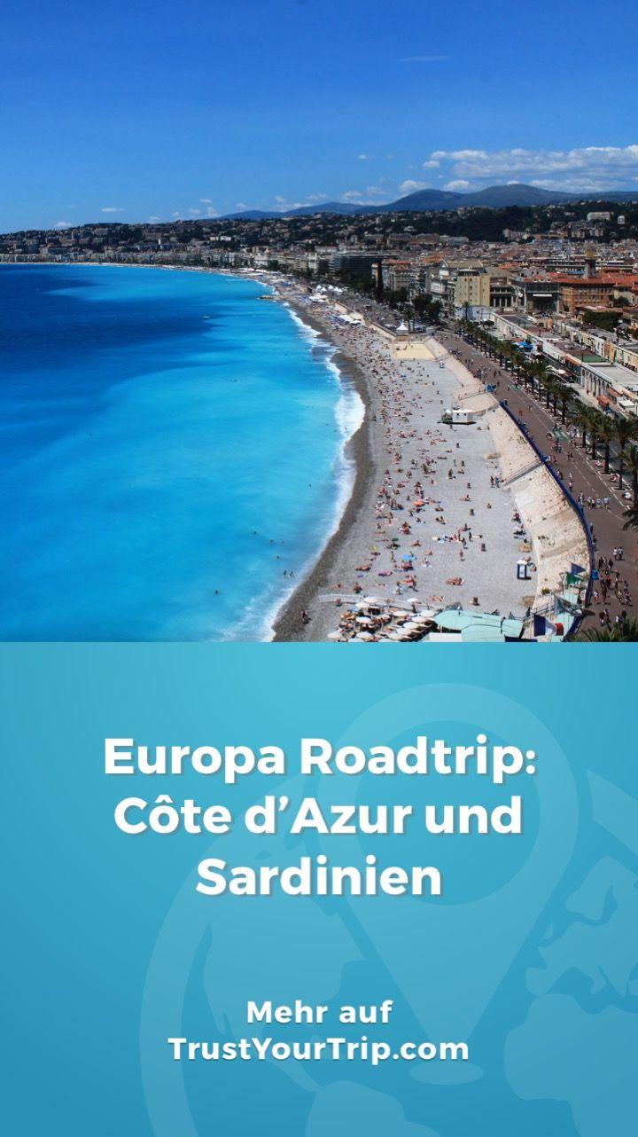 Dieser 3-wöchige Roadtrip führte uns an die Côte d'Azur und mit der Fähre nach Sardinien. Wir haben viele verschiedene Städte erkundet, an diversen Stränden entspannt und die kulinarischen Highlights von Südfrankreich und Italien mitgenommen.