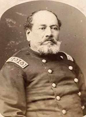 Coronel Jacinto Niño Villarreal, Comandante del Batallón Valparaíso integrado por los miembros de la policía del puerto