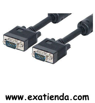 Ya disponible Cable vga 15m m/m apantallado   (por sólo 23.99 € IVA incluído):   -Tipo de cable: VGA, 3 Coax.+ 7, doble apantallamiento -Núcleos de ferrita: 2 -Número de conectores: 2 -Conector HD–15 macho, inyectado: 2 -Color: Negro -Género: M–M Garantía de fabricante  http://www.exabyteinformatica.com/tienda/2213-cable-vga-15m-m-m-apantallado #audio #exabyteinformatica