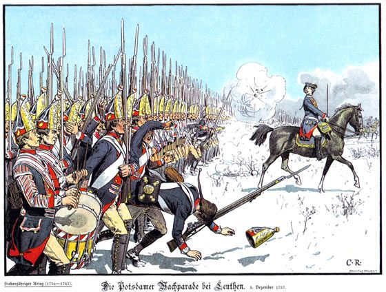An introduction to the historical background of prussias unique military