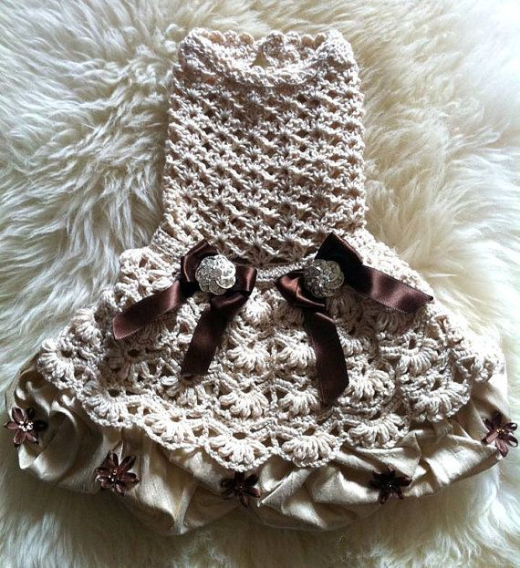 Hey, I found this really awesome Etsy listing at https://www.etsy.com/listing/185281215/small-dog-dress-the-dulce-and-leche