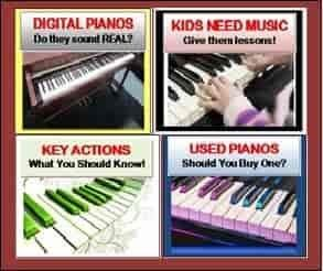 The Most Trusted & Comprehensive Digital Piano Reviews in the world! #1 Digital Piano Expert! Free phone consultations to anywhere in the U.S. Lower discount prices than Amazon and internet piano stores! I have helped thousands of people including families, churches, schools, Universities, studios, music teachers, gigging musicians, children, and anyone who likes music with great piano advice and lower prices for over 40 years.