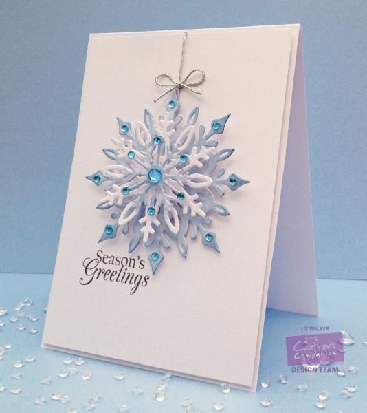CAS Seasons Greetings by Veritycards - Cards and Paper Crafts at Splitcoaststampers
