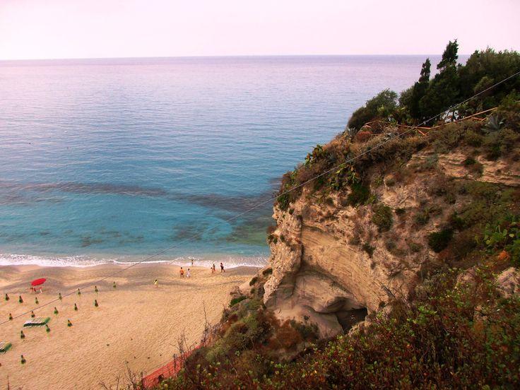 Tyrhénské moře - Tropea - Kalábrie - Itálie