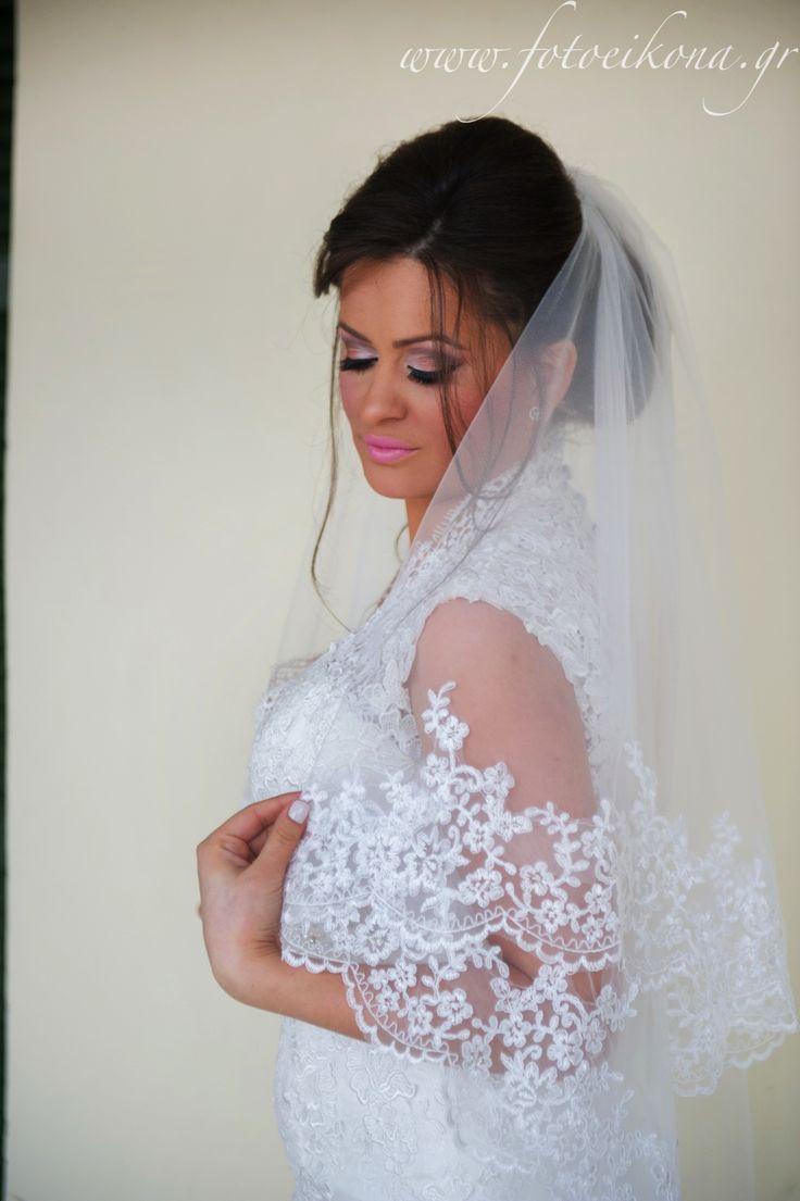Amazing wedding photos of the bride and groom #Lefkas #Ionian #Greece #wedding #weddingdestination #bride Eikona Lefkada Stavraka Kritikos