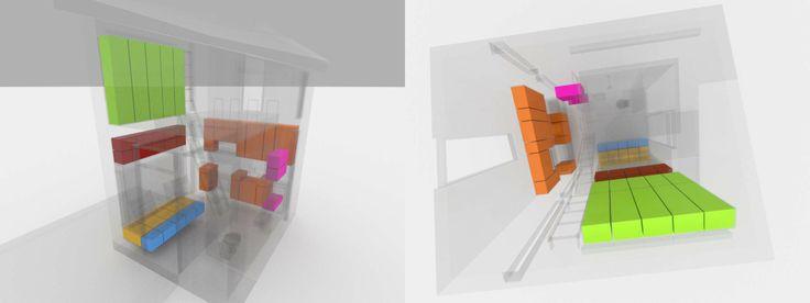 Reset House storage diagram by http://SteveHallArchitecture.com
