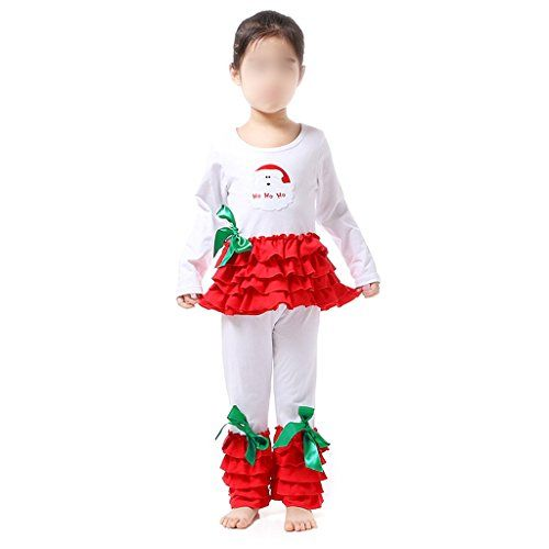 110 Boutique Clothing Christmas Holiday Girls Santa Outfit ** Learn more by visiting the image link.Note:It is affiliate link to Amazon.