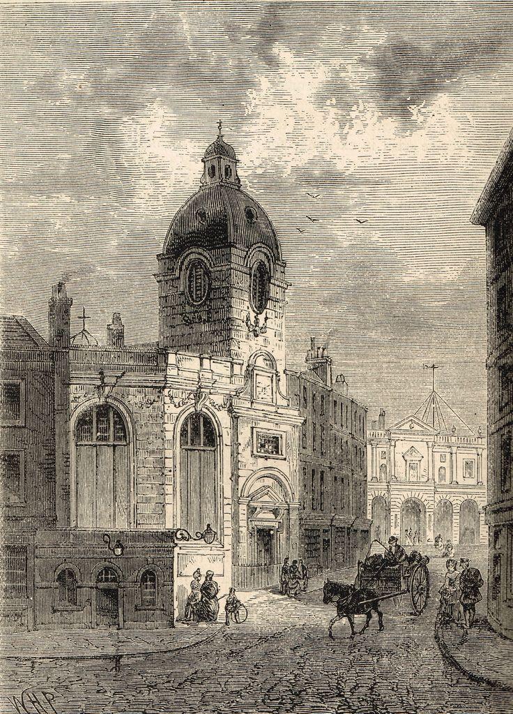 St Benet Fink, a Wren church demolished in 1846