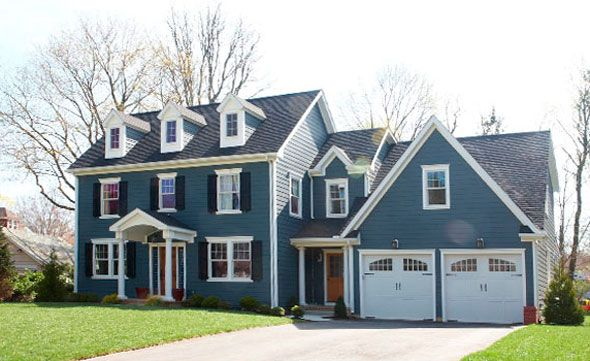 Best 25 garage addition ideas on pinterest for Colonial house addition
