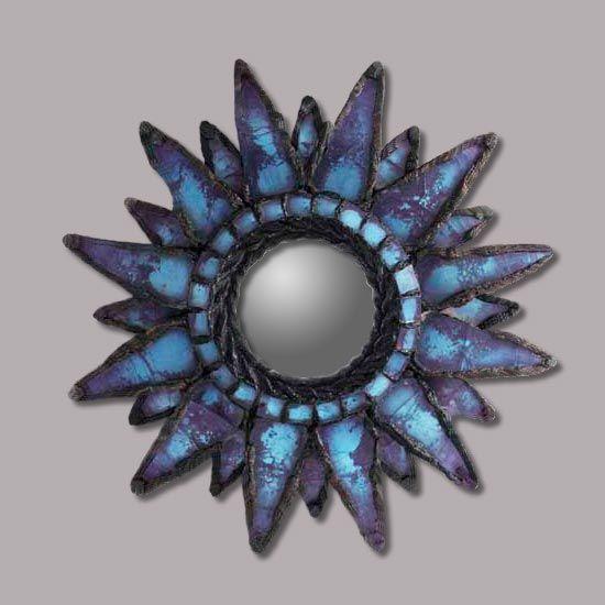 """""""Petit Soleil"""" by Line Vautrin. Tiny (125 mm or just under 5"""") but gorgeous.  #sunburst mirror #starburst mirror"""