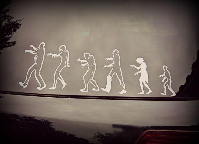 DIY Zombie Stick Figures