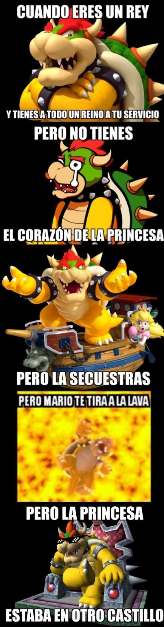 ★★★★★ Memes divertidos chilenos: El dilema de Bowser I➨ http://www.diverint.com/memes-divertidos-chilenos-dilema-bowser/ →  #losmemesmásdivertidosenespañol #memegeneratorenespañolgraciosos #memesderisaburlona #memesderisaparafacebook #memesgraciososespañol