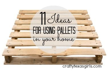 pallet ideas in your home