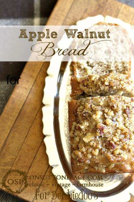 from debbiedoos apple walnut bread recipe apple walnut bread apples ...