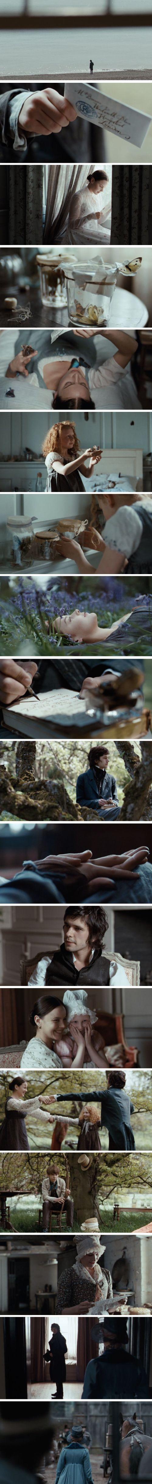 Sobre o romance de Keats e Fanny Brawne! Tão lindo e tão triste esse filme.  As cenas de costura são de tirar o fôlego!