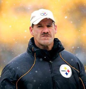 Coach Bill Cowher Super Bowl XLV