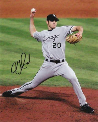 Jon Garland Chicago White Sox - 2005 World Series Autographed Photo ...