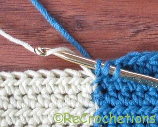 Tapestry Crochet color change techniques