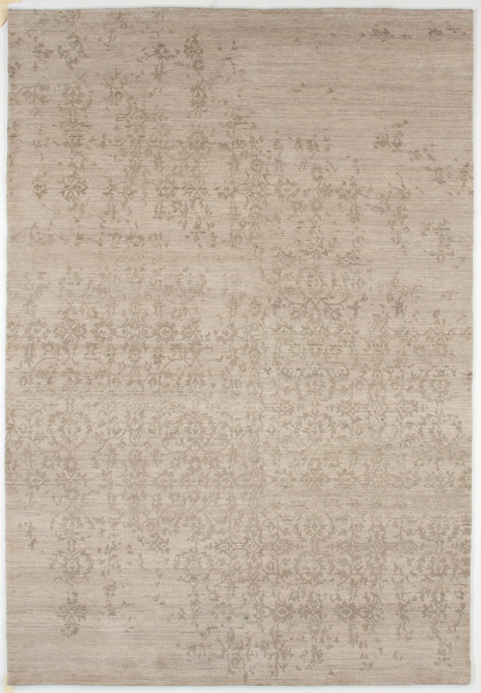 Rugstudio Presents Jaipur Rugs Geode Scroll Clic Gray Hand Knotted Good Quality Area Rug