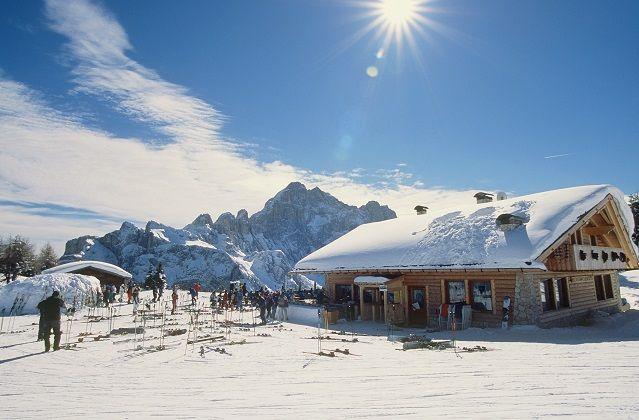 Civetta Ski Area: typical Refuge #dolomitistars