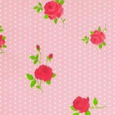 Tafelzeil+Dots+&+Roses+Roze+-+Fleurig+tafelzeil+met+stippen+en+rozen+in+het+roze.+Erg+vrolijk!+Het+tafelzeil+is+makkelijk+afneembaar,+dus+ook+ideaal+geschikt+voor+mensen+met+kinderen.+Het+tafelzeil+valt+soepel+om+uw+tafel+en+is+140cm+breed.