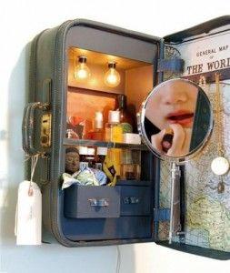 make up  suitcase