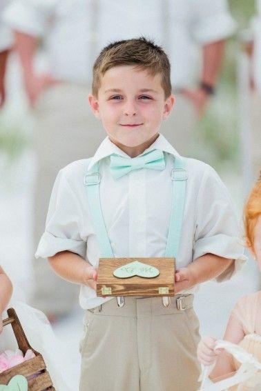 A Romantic Blush, Mint and Gold Wedding