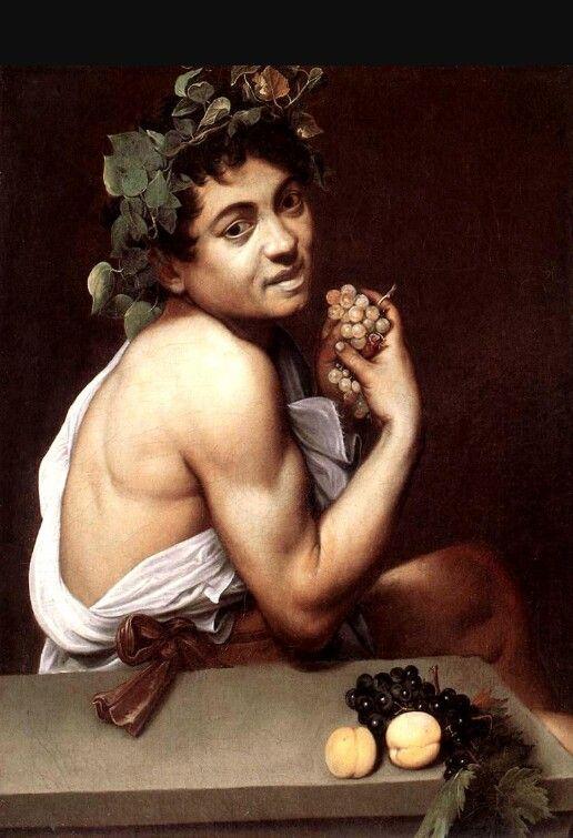 Bacchino malato di Caravaggio, 1593-94, conservato presso la Galleria Borghese di Roma