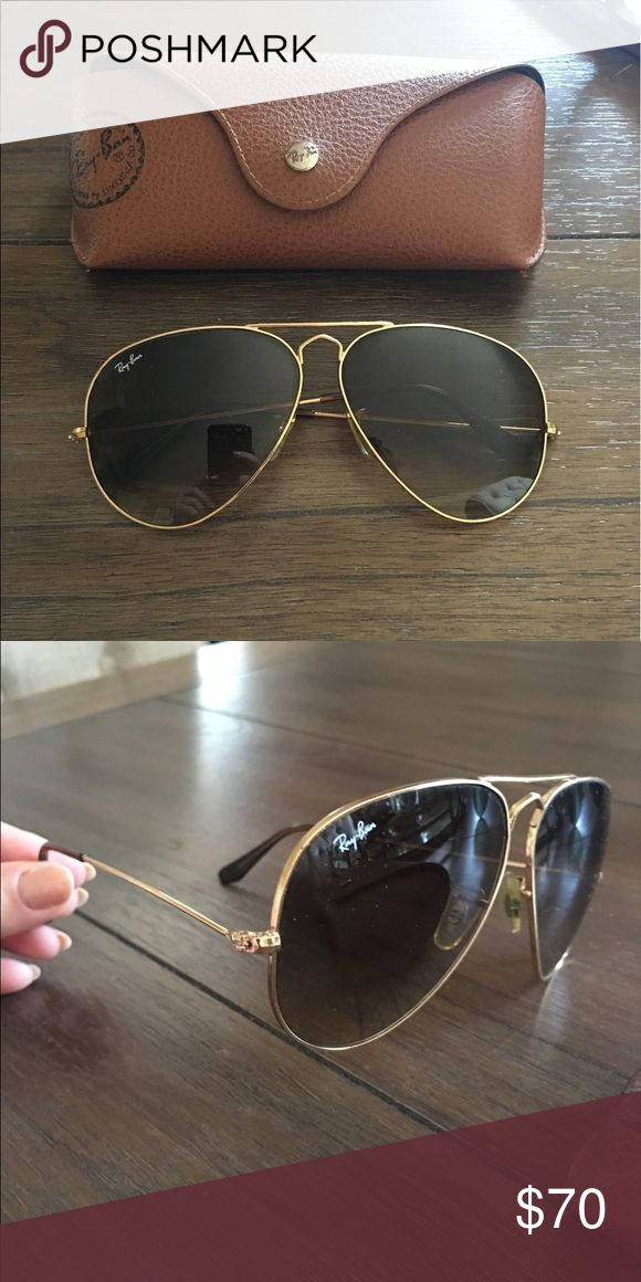 Ray ban oversized aviators Ray ban classic aviators! Used in good condition Ray-Ban Accessories Sunglasses