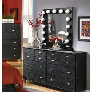 broadway table top turn any dresser into a vanity vanity tales. Black Bedroom Furniture Sets. Home Design Ideas