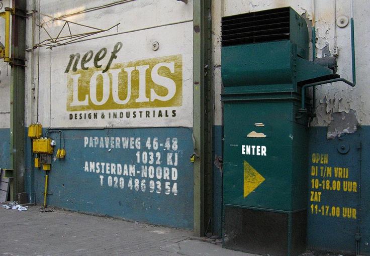neef louis designs: industrial vintage design