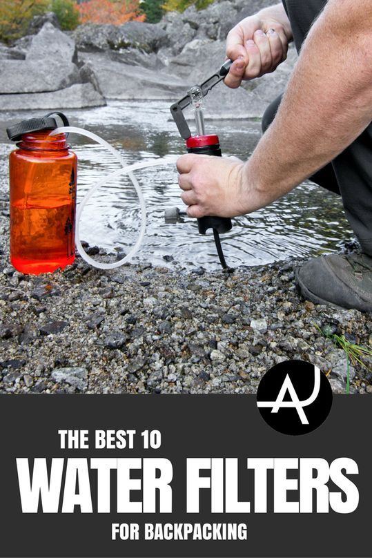 Best Backpacking Water Filters of 2018