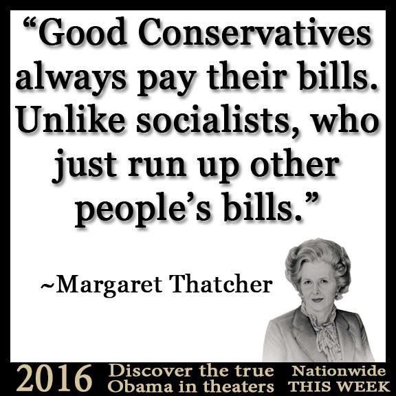 ~Margaret Thatcher