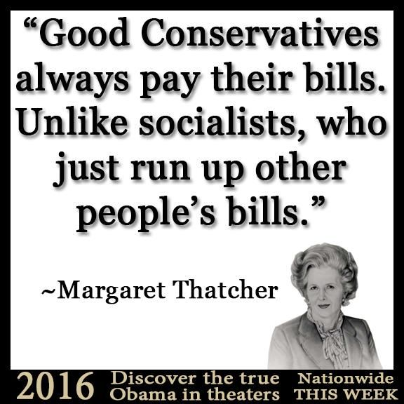 ~Margaret Thatcher