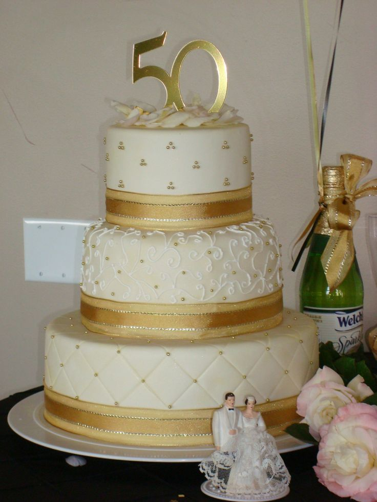 17 best ideas about 50th anniversary cakes on pinterest for 50th wedding anniversary cake decoration ideas