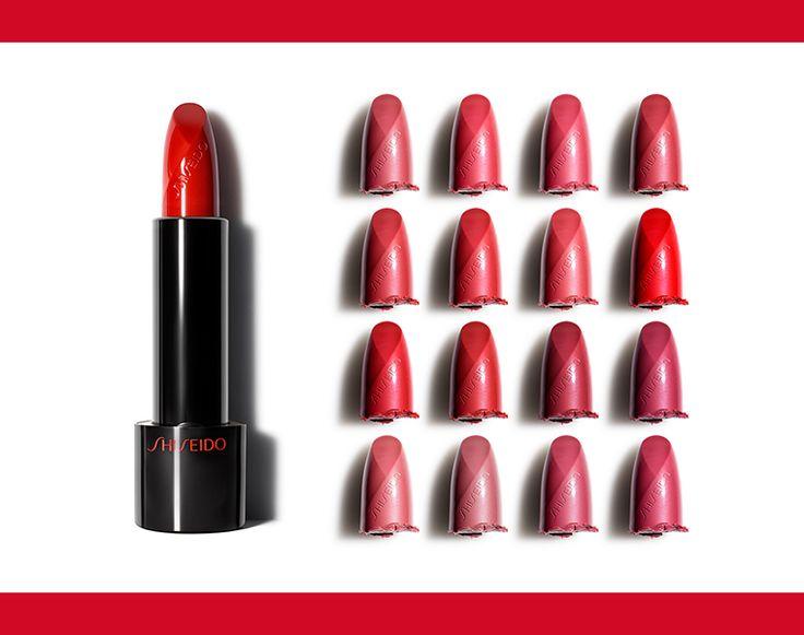 Osa indossare il ROSSO. Scegli il tuo tra le 16 tonalità ricche e cremose di Rouge Rouge!