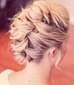 Faux Hawk | 12 Curly Homecoming Hairstyles You Can Show Off