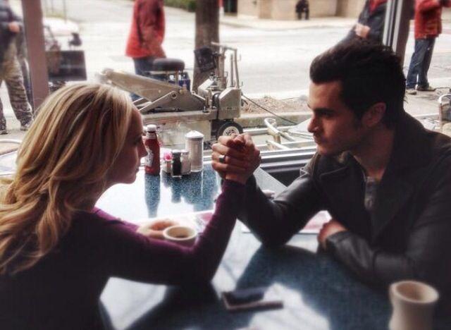The Vampire Diaries | Enzo & Caroline