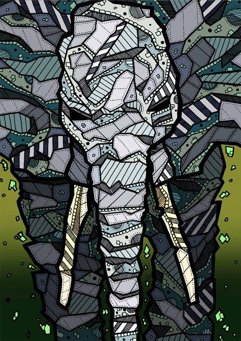 Elephant Illustration by Kelly Blake
